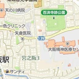 枚方市立明倫小学校の周辺地図・...