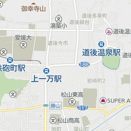 松山家庭裁判所付近の駐車場   駐車場予約なら「タイムズのB」