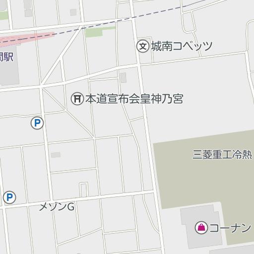 林間 コナミ 中央