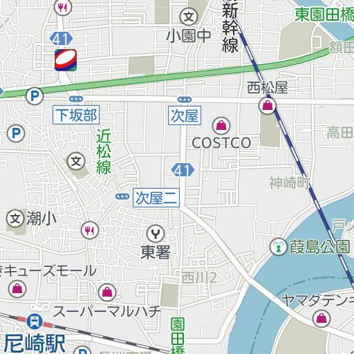 駐 尼崎 車場 モール キューズ