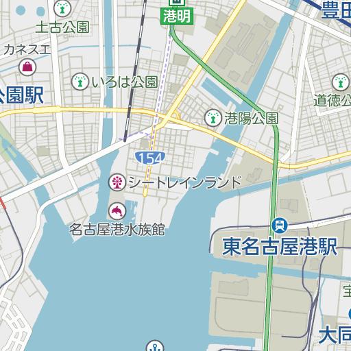 市 区 名古屋 港