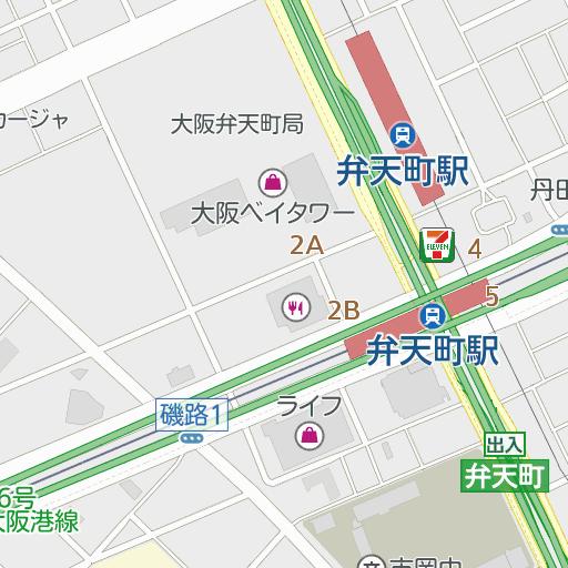 駅 弁天 町