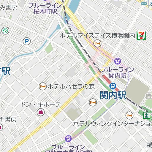 赤門町(横浜市中区)周辺の時間貸駐車場 |タイムズ駐車場検索