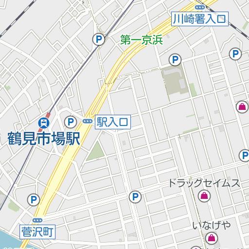市場上町(横浜市鶴見区)周辺の時間貸駐車場 |タイムズ駐車場検索