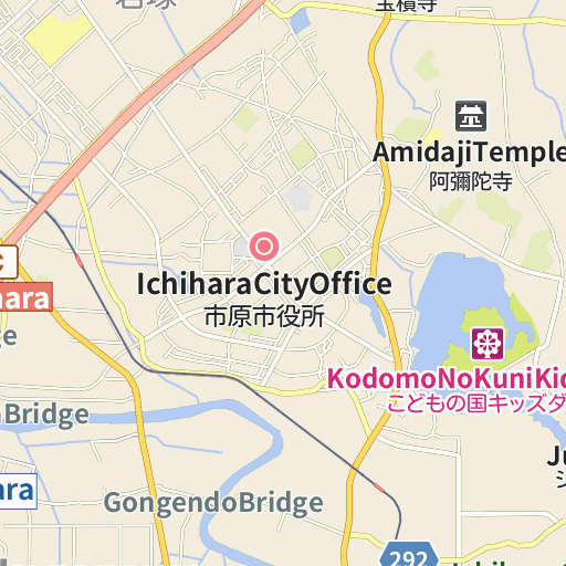 NEXCO East Ichihara Service Area InformationOutbound Map And - Ichihara map