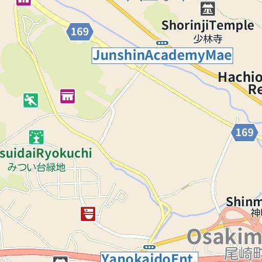 Hachioji Ukaitei Map And Directions LIVE JAPAN Japanese Travel - Hachiōji map