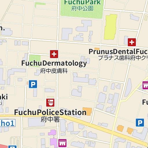 Hotel Live Max Fuchu Map And Directions LIVE JAPAN Japanese - Fuchu map