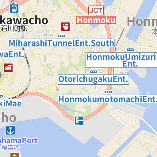 Yokohama Minato Mirai 21 map and directions LIVE JAPAN Japanese