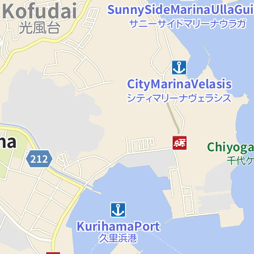 Yokosuka Kurihama Flower Park map and directions LIVE JAPAN