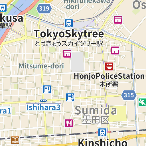 Kameido Tenjin Shrine map and directions LIVE JAPAN Japanese