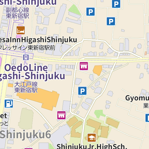 UNIQLO Shinjuku West Exit map and directions LIVE JAPAN
