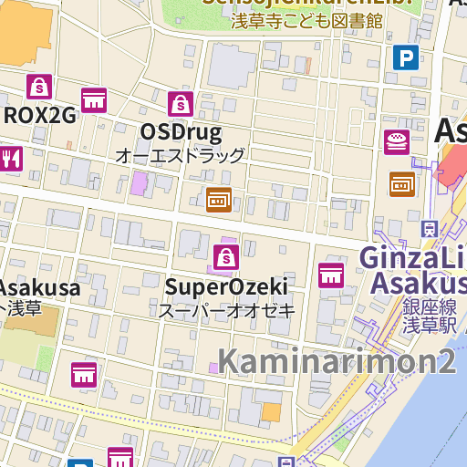 Asakusa Kagetsudo map and directions LIVE JAPAN Japanese travel