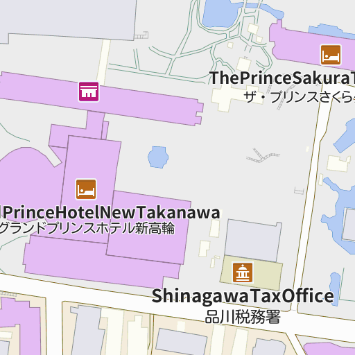 Shinagawa Prince Hotel map and directions LIVE JAPAN Japanese