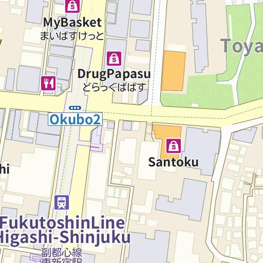 APA Hotel Higashi Shinjuku Kabukicho map and directions LIVE JAPAN