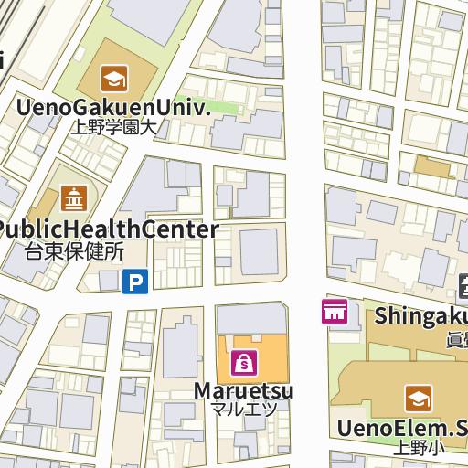 Hotel Mystays Ueno Iriyaguchi map and directions LIVE JAPAN