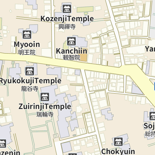 Tennoji map and directions - LIVE JAPAN (Japanese travel ...
