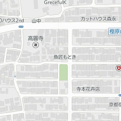 レオパレスQUERCUS(101号室)|桂駅|京都市西京区の周辺地図 ...