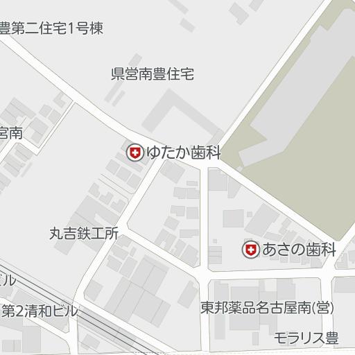 レオパレス豊第2(301号室)|豊田本町駅|名古屋市南区の周辺地図 ...