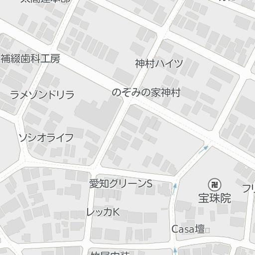 メゾン・ド・セーヌ(215号室) 名古屋大学駅 名古屋市昭和区の周辺 ...