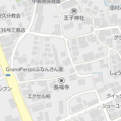 レオパレスヴィクトアール(203号室)|大場駅|三島市の周辺地図 ...