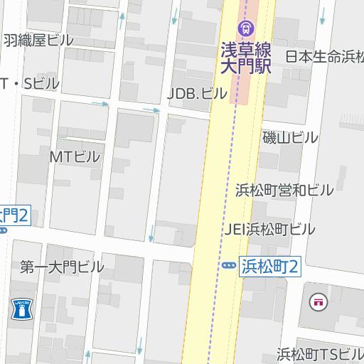 2 浜松 区 15 2 東京 港 町 都 シンプル地図