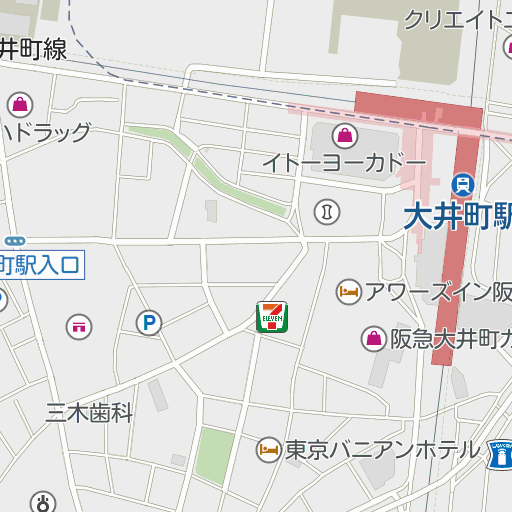 井町 営業 大 時間 アトレ
