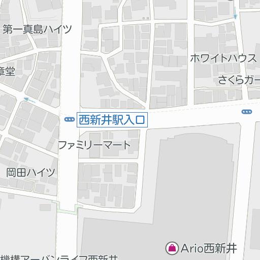 西新井 トーホー シネマズ TOHOシネマズ フロアガイド アリオ西新井