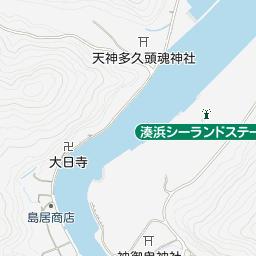 地図 対馬 観光情報館 ふれあい処つしま