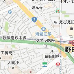大阪府大阪市福島区の地図 - goo地図