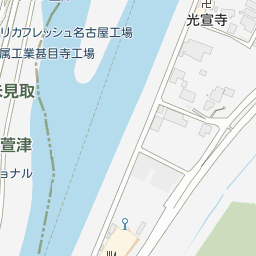 愛知県道79号あま愛西線の地図 - goo地図