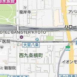 京都府京都市下京区の地図 - goo地図