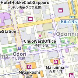 Sapporo Municipal Subway Map.Times Car Rental Sapporo Station Times Station Hokkaido Times