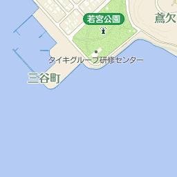 愛知県水産試験場の周辺地図・ア...