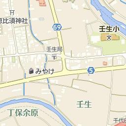 壬生郵便局の周辺地図・アクセス...