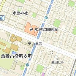 トマト銀行水島支店の周辺地図・...
