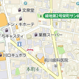 川口市メディアセブンの周辺地図...