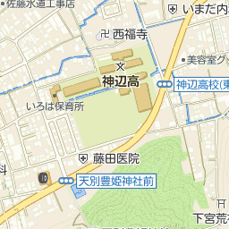 備後信用組合神辺支店の周辺地図...