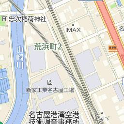 名古屋南郵便局の周辺地図・アク...