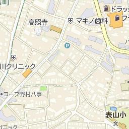 名古屋市立八事東小学校の周辺地...
