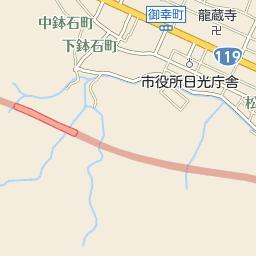 表参道のバス時刻表とバス停地図...