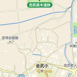 福岡市立金武小学校の周辺地図・...