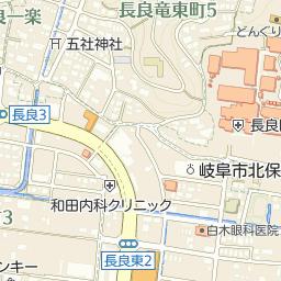 バロー長良店の周辺地図・アクセ...