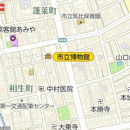 敦賀信用金庫本店営業部の周辺地...