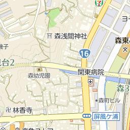 磯子郵便局の周辺地図・アクセス...