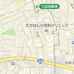 上高井戸町会会館の周辺地図・ア...
