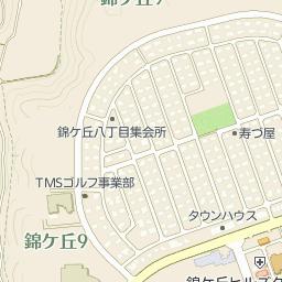 仙台市立錦ケ丘小学校の周辺地図...