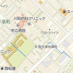 泉大津市立条南小学校の周辺地図...