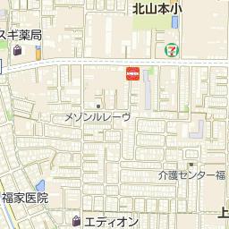 八尾市立長池小学校の周辺地図・...