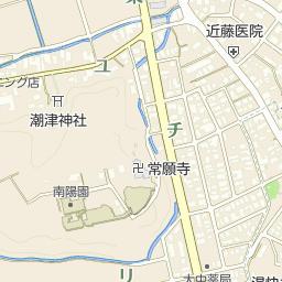 加賀市片山津中学校の周辺地図・...