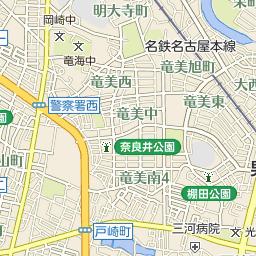 竜美南のバス時刻表とバス停地図...